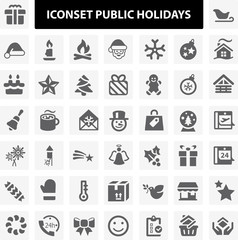 Iconset Public Holidays