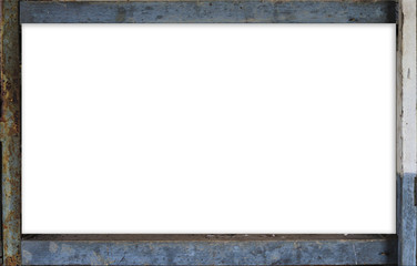 Rust border square frame