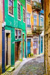Fototapeta Alleyway in Porto, Portugal obraz
