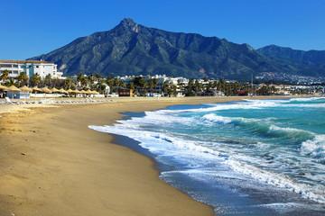 plage de Marbella Fototapete