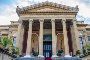 Teatro Massimo in Palermo, Italy