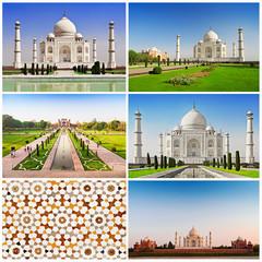 Fototapete - Taj Mahal set