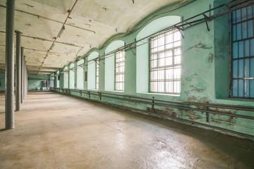 Deserted warehouse