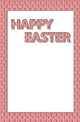 Frame on Easter wishes