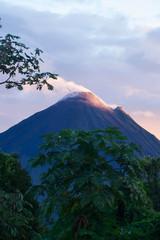 volcan Arenal à l'aube - Costa Rica