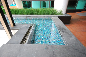 pool and outdoor architecture design