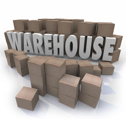 Warehouse Boxes Inventory Management Storage