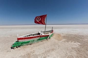 Tunis salt lake