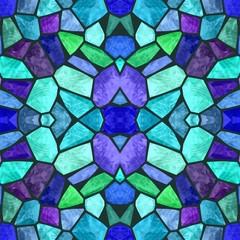 Beautiful seamless color kaleidoscope