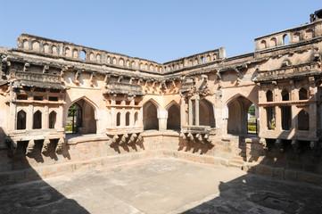 Queen's bath temple at Hampi