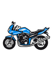 Poster Motorcycle motorcycle sport tourer Naked Bike