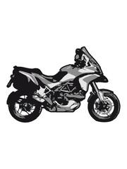 Poster Motorcycle motorcycle enduro