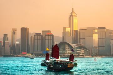 Foto op Plexiglas Hong-Kong Hong Kong.