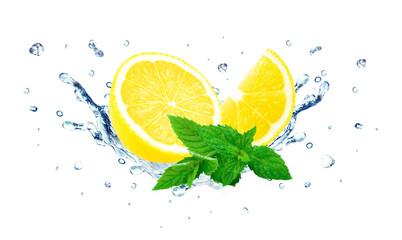 lemon and mint splash