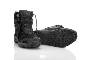 Wall Mural - Trekking shoes 1