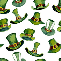 Leprechaun hats pattern