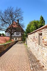 Rundweg an der Stadtmauer Warburg