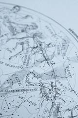 アンティークの天体図 さそり座