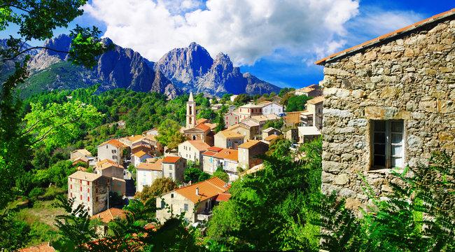 stunning mountain villages of Corsica - Evisa