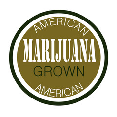 marijuana label design