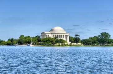 Foto op Canvas Kersenbloesem Jefferson Memorial - Washington D.C.