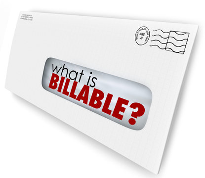 What is Billable Words Envelope Invoice Mail Charges