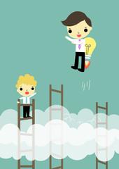competitive advantage win with idea