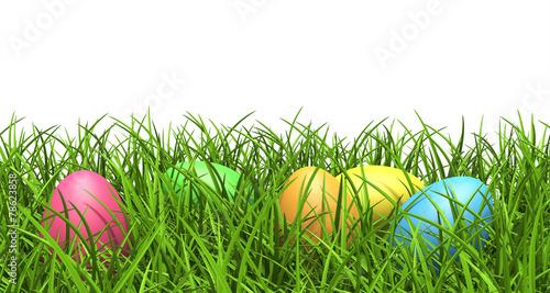 ostereier gras rasen wiese versteckt bunte eier ei. Black Bedroom Furniture Sets. Home Design Ideas