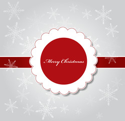 Christmas Vector Illustration Background