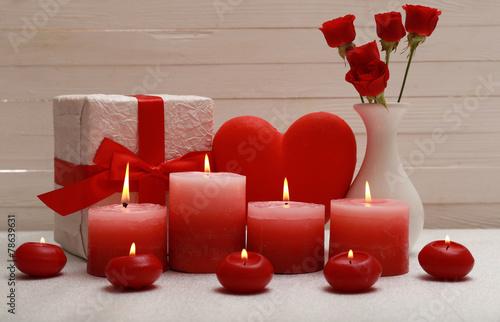 свечи сердца горящие без смс