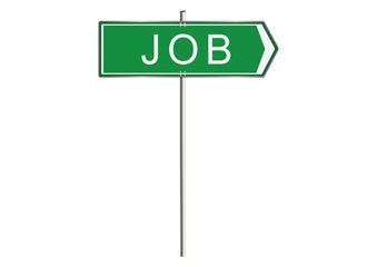 Job road sign