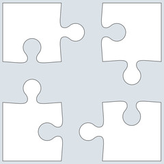 Background Vector Illustration jigsaw puzzle.