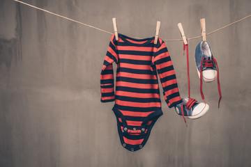 Baby onesie shoes