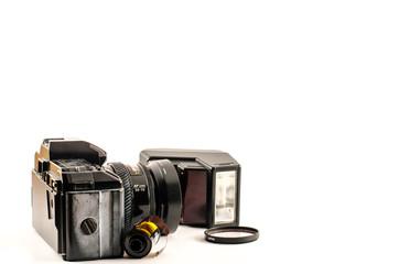Analogic reflex camera