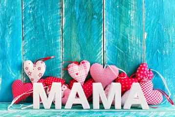 Wall Mural - Mama Muttertagskarte