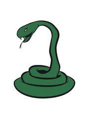 Dangerous snake cool