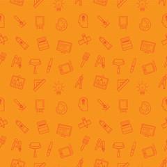 Art seamless pattern