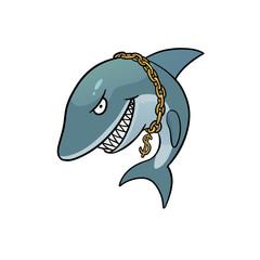 Business shark