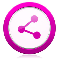 share violet icon