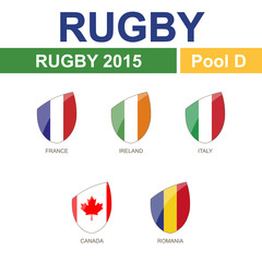 Rugby 2015, Pool D