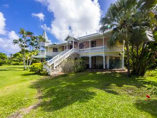 Altes Kolonialhaus, Reggae Beach, Ocho Rios, Antillen, Karibik