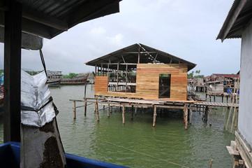 Fishing village of Natuna