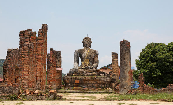 Ruined Temple -  Laos