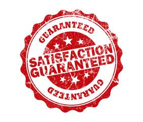 satisfaction guaranteed stamp