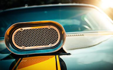 Powerful muscle car