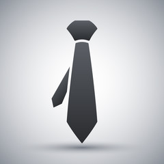 Vector necktie icon