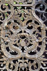 Beautiful wooden lattice pattern