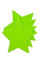 Green Foam Stars