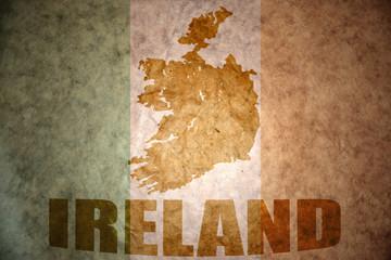 vintage ireland flag