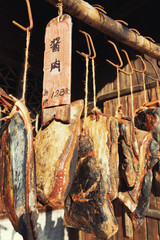 traditional chinese preserved meat